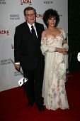 Bob Daly and wife Carole Bayer Sager at LACMA presents
