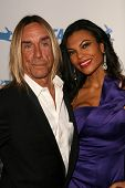 Iggy Pop, Nina Alu at PETA's 30th Anniversary Gala and Humanitarian Awards, Hollywood Palladium, Hollywood, CA. 09-25-10