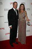 Tom Hanks and Rita Wilson at LACMA presents
