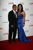 Antonio Villaraigosa and Lu Parker at LACMA presents