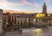 View From The Girona Cathedral - Catalonia, Spain