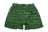 image of gusset  - green men - JPG