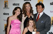 Sylvester Stallone and Family at the 14th Annual Hollywood Awards Gala, Beverly Hilton Hotel, Beverly Hills, CA. 10-25-10