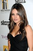 Mila Kunis at the 14th Annual Hollywood Awards Gala, Beverly Hilton Hotel, Beverly Hills, CA. 10-25-