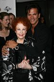 Arlene Dahl and Lorenzo Lamas at thr Hollywood Walk of Fame's 50th Birthday Bash,  Kodak Theater Grand Ballroom, Hollywood, CA. 11-03-10