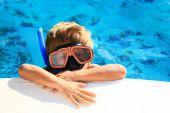 Kid Snorkeling