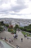 PARIS,FRANCE-AUGUST19-View of Paris from basilica Sacre Coeur