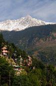 View on the McLeod Ganj near Dharamsala
