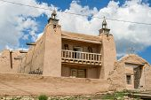 San Jose De Gracia Church In Las Trampas, New Mexico