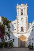 image of tarifa  - Church within the old city of Tarifa Spain - JPG