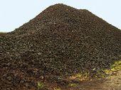 Wet Peat Heap