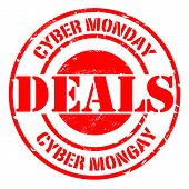 Cyber Monday Deals Stamp