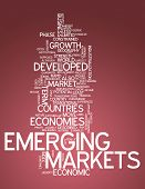 Word Cloud Emerging Markets