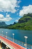 foto of french polynesia  - Paradise view of Moorea Islands Cook - JPG