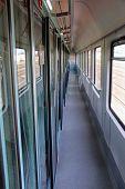 Train Vestibule Or Train Corridor