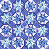 Vector Quilt Abstract Seamless Pattern