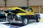 Chevy Stepside 3100 Displayed In A Show