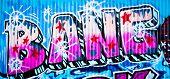 MELBOURNE, AUSTRALIA - JUNE 20 2014: Street art by unidentified artist. Melbourne's graffiti management plan recognises the importance of street art in a vibrant urban culture