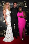 LOS ANGELES - JUN 22:  Cindy Ambuehl, Don Diamont, Sheryl Underwood at the 2014 Daytime Emmy Awards
