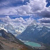Landscape of Patagonia.