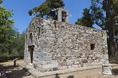 Old church at Kos island in Greece