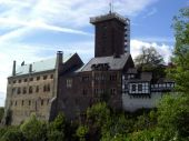Castle Wart (Wartburg) in Eisenach