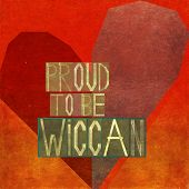 foto of wiccan  - Proud to be wiccan - JPG