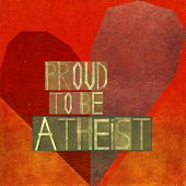Proud to be atheist