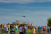 Avro Vulcan bomber at Weston Air Festival