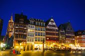 Old Town In Frankfurt Am Maine