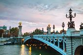 Aleksander Iii Bridge In Paris