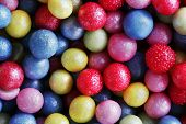 image of eatables  - Colorful sweet sugar pearls - JPG