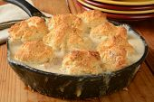 Постер, плакат: Chicken Biscuit Casserole
