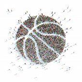 Symbol of a Basketball ball.
