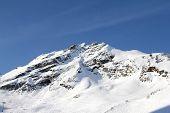 Ski Lift In Mountains