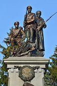 Monument To Heroes Of First World War. Kaliningrad (former Koenigsberg), Russia