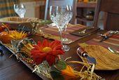 Thanksgiving Dinner Table Centerpiece