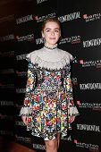 LOS ANGELES - NOV 9:  Kiernan Shipka at the Hamilton Behind The Camera Awards at the Wilshire Ebell Theater on November 9, 2014 in Los Angeles, CA