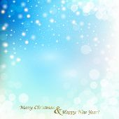 Christmas Winter Abstract Background