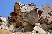 Rock Formation Grapevine Canyon Nevada