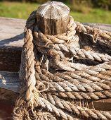 Hank ship rope