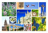 Photo Collage Provence, France