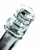 Neck Of A Bottle Of Champagne Closed