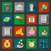 Tax Icons Set