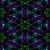 Abstract kaleidoscopic pattern