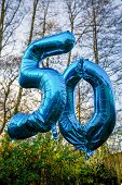 50 today balloons
