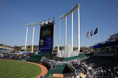 Kauffman Stadium Scoreboard - Kansas City Royals