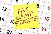 Fat Camp Reminder
