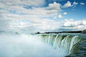 Water Falling In Niagara Falls