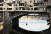 Ponte Vecchio Over The River Arno, Florence